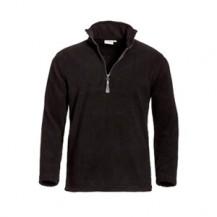 SANTINO-fleece-Sweater-Serfaus-zwart