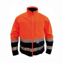 Softshell-jack-oranje-25130000