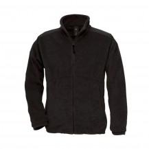B&C Fleece jas ICE zwart