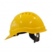 M-safe veiliheidshelm geel